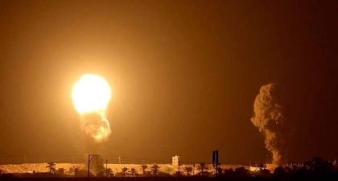 Alors que la Maison Blanche célébrait la signature de l'accord de normalisation entre Israël, les Émirats Arabes Unis et Bahreïn hier soir, la bande de Gaza était fortement bombardée par l'aviation israélienne