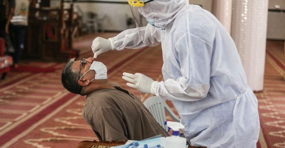 Israël a détruit 100 000 kits de test de coronavirus envoyés en Palestine
