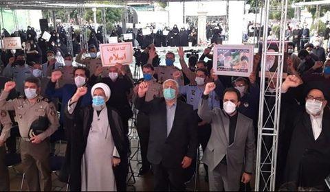 Le peuple iranien organise des rassemblements contre les sacrilèges du Saint Coran et du Prophète Mohammed (P)1