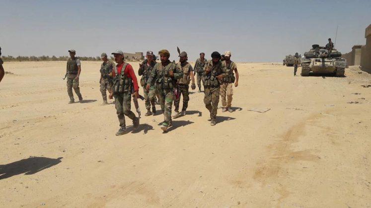 l'armée syrienne se prépare à une nouvelle vague d'attaques de Daesh