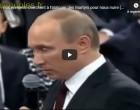 Poutine : » nos ennemis cherchent à fabriquer des martyrs pour nous nuire (Navalny, Skripal, Nemtsov)»