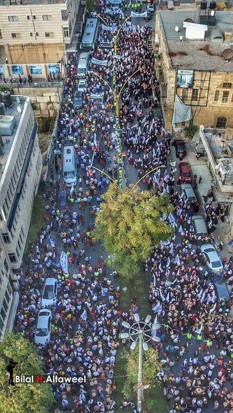 Des milliers de Palestiniens participent à un rassemblement à Al Khali(P)