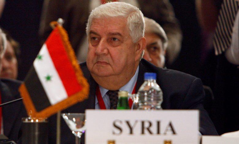 La Syrie pleure le légendaire haut diplomate et politicien chevronné Walid Mualle