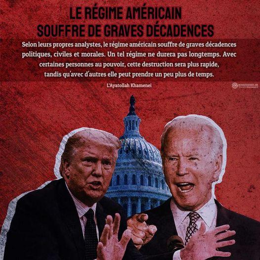 Le régime américain souffre de graves décadences