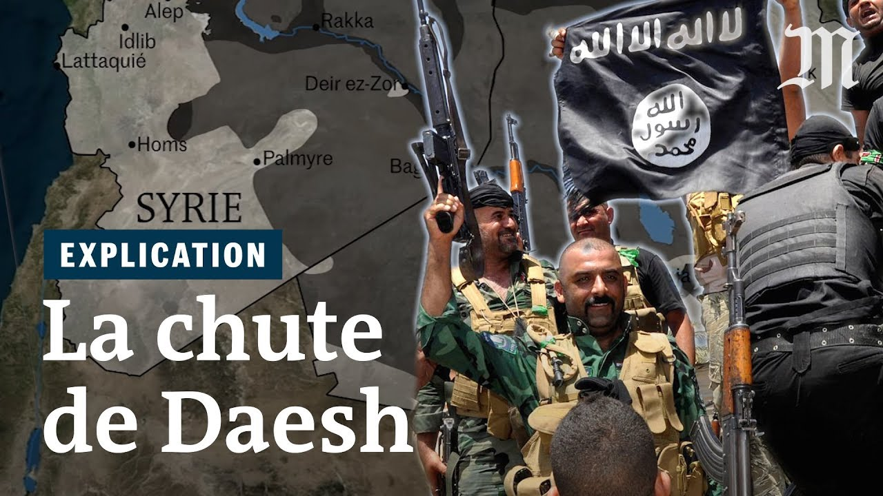La chute de Daesh