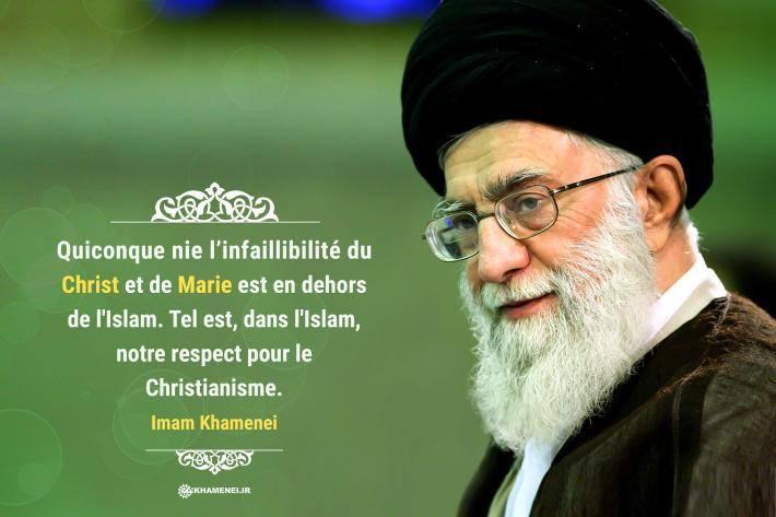 Quiconque nie l'infaillibilité du Christ et de Marie est en dehors de l'Islam