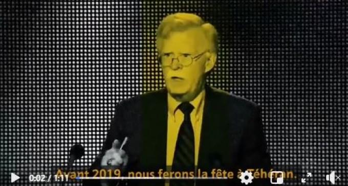 Vidéo : Trump et Bolton ont été jetés dans les poubelles de l'Histoire