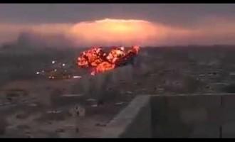 [ Vidéo exclusive ] L'Armée Yéménite abat à nouveau un avion de guerre Saoudien le 8 juin 2015.