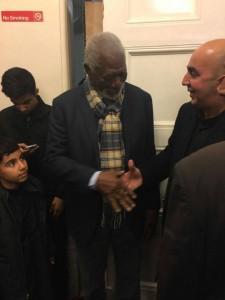 L'acteur américain Morgan Freeman participe à la commémoration de 'Achoura 3