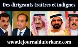Des dirigeants traîtres et indignes