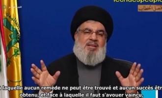 """Hassan Nasrallah : """"la foi et la patience sont les meilleures armes contre le coronavirus"""""""