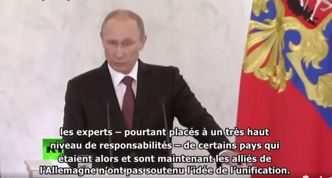 Poutine : Les dirigeants européens chuchotent dans leur propre maison de peur d'être espionnés
