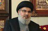 Nasrallah répond qu'ils feraient face à plus de 100 000 combattants….