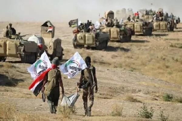 Hashd al-Sha'abi détruit les positions de Daesh à Tal Afar en Irak