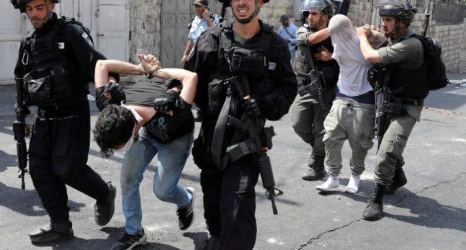 Arrestations massives et tentative d'enlèvement à Jérusalem occupée