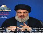 Hassan Nasrallah appelle à une Intifada sur les réseaux sociaux en défense d'Al-Quds (Jérusalem)