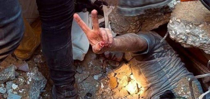 Une photo qui vaut 1000 mots, prise aujourd'hui à Gaza … Sans commentaire