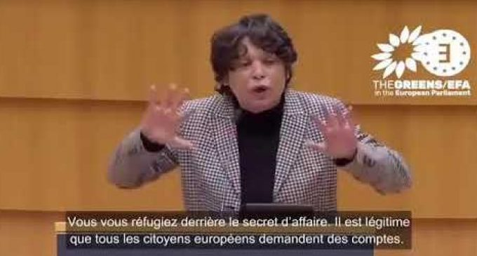 Une députée européenne se lève !