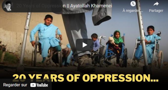20 ans d'oppression contre l'Afghanistan