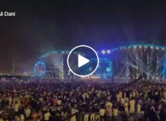 Les Saoud organisent des concerts avec des centaines de milliers de participants!